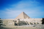 The Sphinx and Pyramid 1998