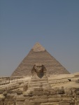The Sphinx is actually pretty far away