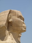 the face of the Sphinx