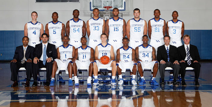 Uk Basketball Schedule: 2009-2010 University Of Kentucky Basketball Team