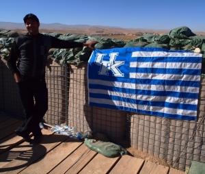 shoaib and the Afghan UK Fan club