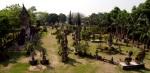 Buddha Park 24 km outside of Vientiene, Laos