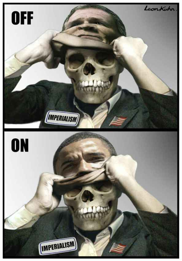 Bush-Obama  Two Sides of Corruption