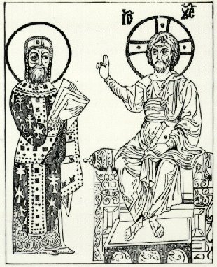 Emperor Constantine and the King of Kings