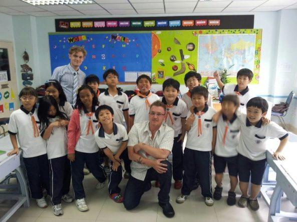 International 3rd Graders