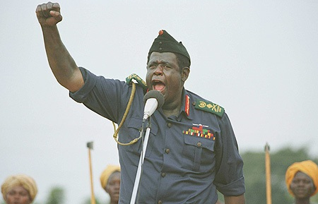GoD has more in common with Idi Amin (as portrayed by Forrest Whitaker) than George Washington