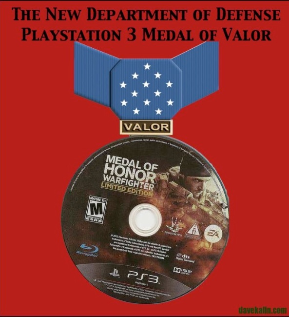 This Medal is for those Drone Pilots who kill fewer than 10 Children per year.